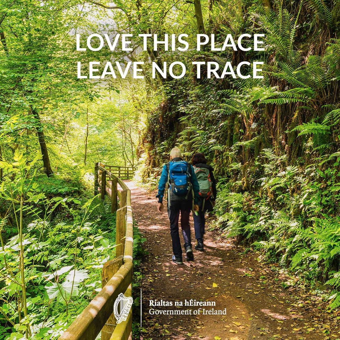 Love this place, leave no trace poster